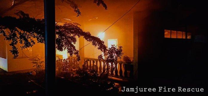 ไฟไหม้ สันกำแพง