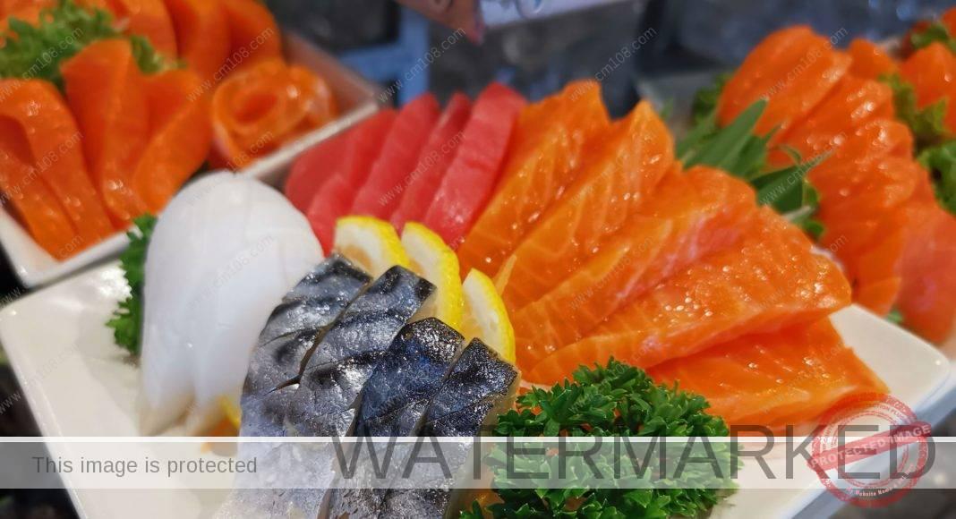บุฟเฟต์อาหารญี่ปุ่นโรงแรมดวงตะวันเชียงใหม่