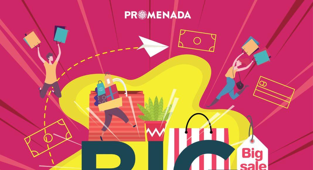 ศูนย์การค้าพรอมเมนาดา เชียงใหม่ จัดหนัก จัดเต็ม Big Sale Weekend ตั้งแต่วันที่ 31 กรกฎาคม – 2 สิงหาคม 63